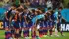ژاپنی ها ادب خود را در جام جهانی به نمایش گذاشتند + عکس