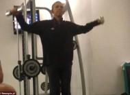ورزش کردن خصوصی آقای رئیس جمهور +(عکس)