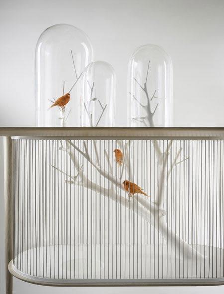 طراحی بی نظیر از جدیدترین مدل قفس پرندگان + عکس