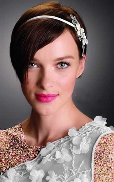 گلچینی از آرایش موی عروس ویژه تابستان