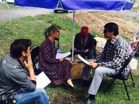 بازی مهناز افشار در یک فیلم تاجیکستانی +(عکس)