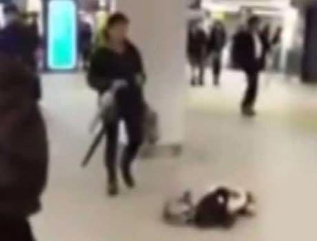 حرکت عجیب مادر سنگدل در مترو سوژه شد + عکس