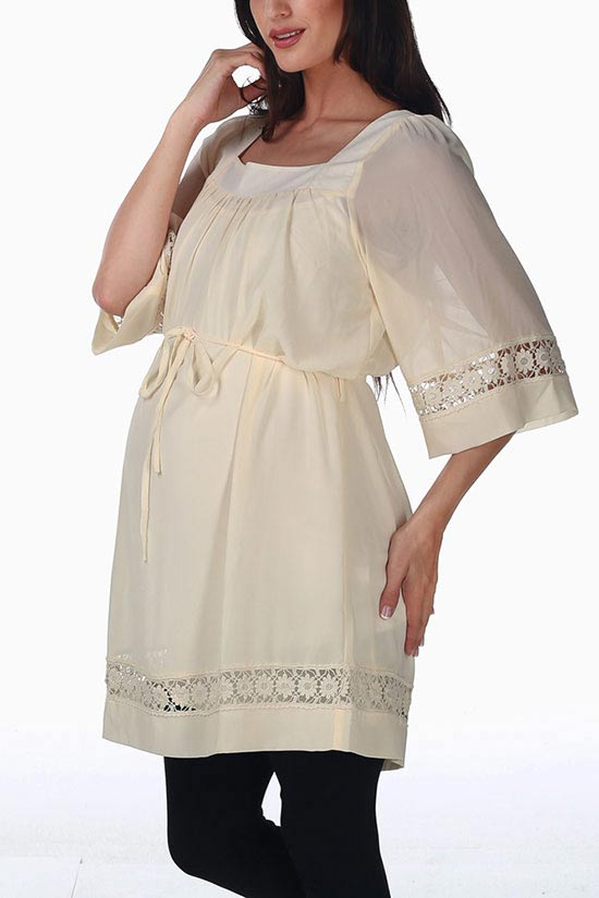 شیک و جدیدترین مدل لباس بارداری مجلسی 2014