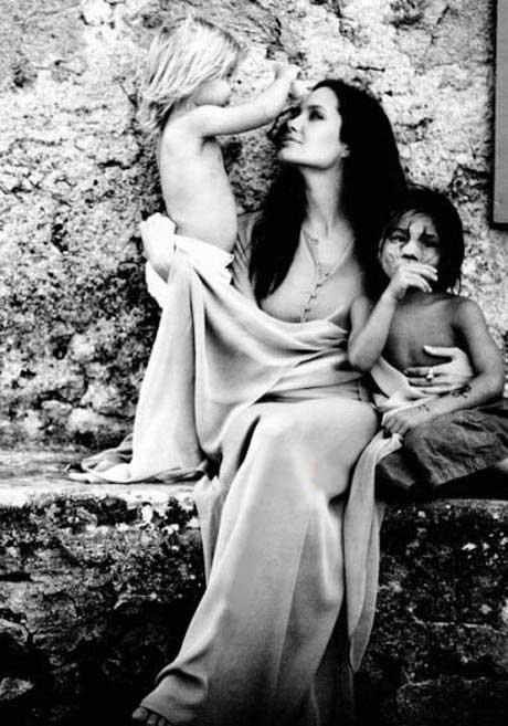 عکس های هنری و شگفت انگیز برد پیت از همسرش آنجلینا جولی