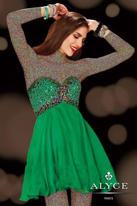 جذاب ترین مدل لباس مجلسی کوتاه ویژه دختران