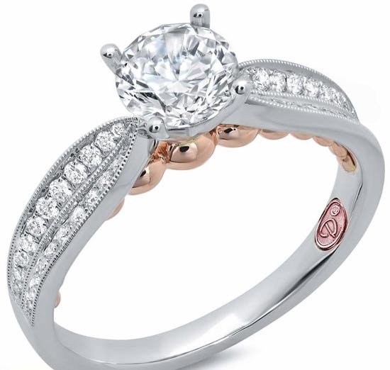 مدل حلقه عروسی رنگ نقره ای