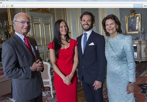 نامزدی پرنس فیلیپ ولیعهد سوئد با یک مانکن معروف + عکس