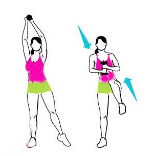 آموزش تقویت عضلات پهلو و آب کردن چربی های پهلو