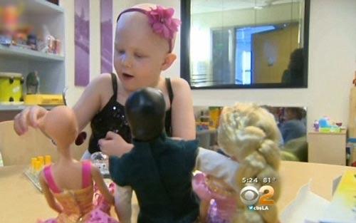 عروسک باربی ویژه کودکان مبتلا به سرطان + عکس