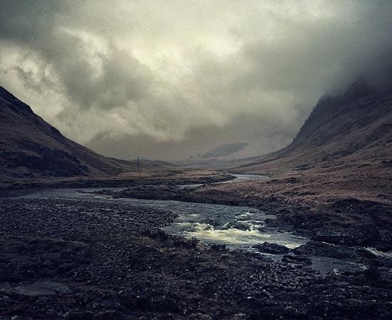 عکس های زیبا از طبیعت اسکاتلند با دوربین آیفون