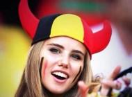 دختر تماشاچی فوتبال برزیل زیباترین انتخاب شد + عکس