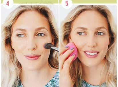 آموزش آرایش صورت طلایی ویژه تابستان + عکس