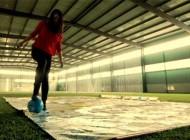 هنرمندی دیدنی و جالب دختر جوان طرفدار فوتبال + عکس