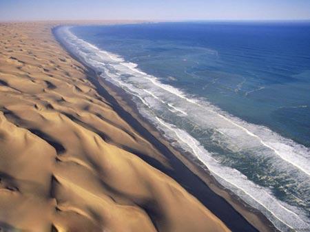 رونمایی شگفت انگیزترین سواحل کشور آفریقا + عکس