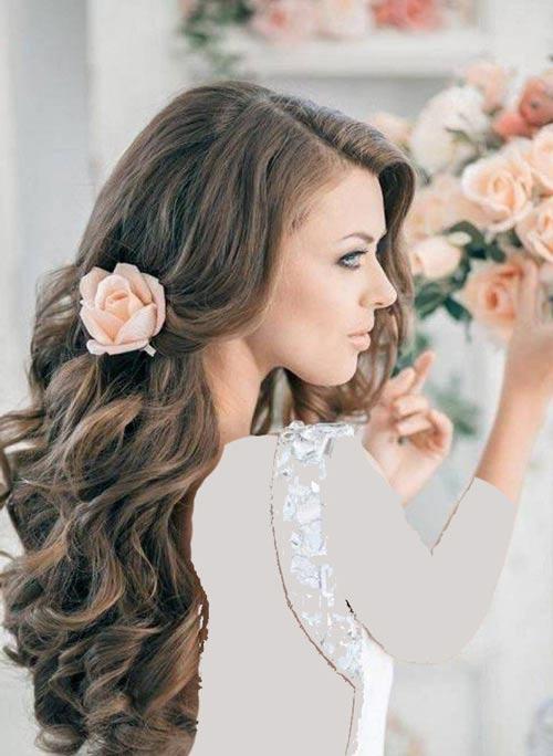 شیک و زیباترین مدل موی بلند ویژه خانم های جوان