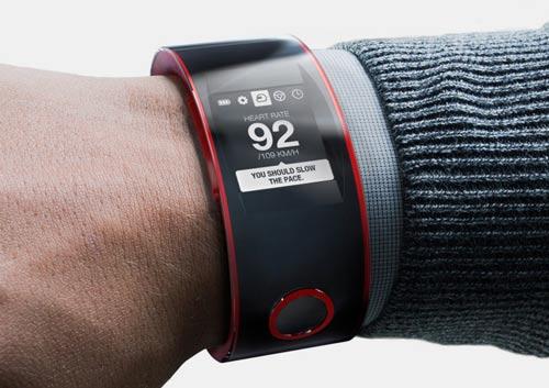 مفهوم ساعت مچی هوشمند nismo
