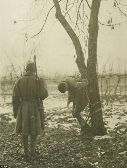 تصاویر تکان دهنده مربوط به جنگ جهانی اول