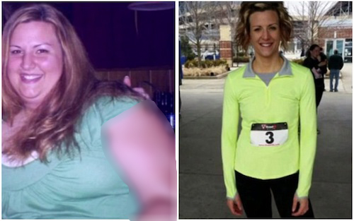 انگیزه جالب خانم 140 کیلویی برای لاغر شدن + عکس
