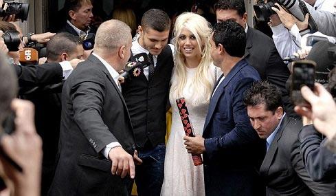 یکی از جنجالی ترین عروسی های امسال (عکس)