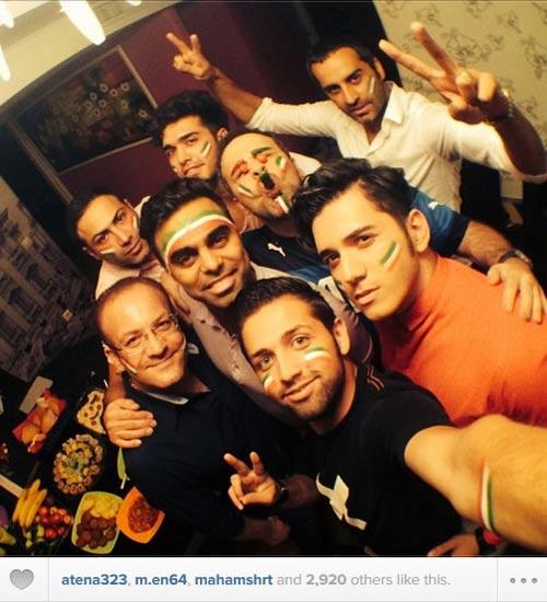 ع های دیدنی و متفاوت چهره های معروف ایرانی در اینستاگرام