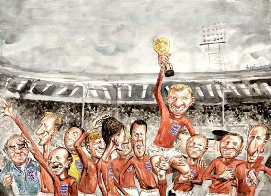 لحظه های به یاد ماندنی جام جهانی به روایت کاریکاتور