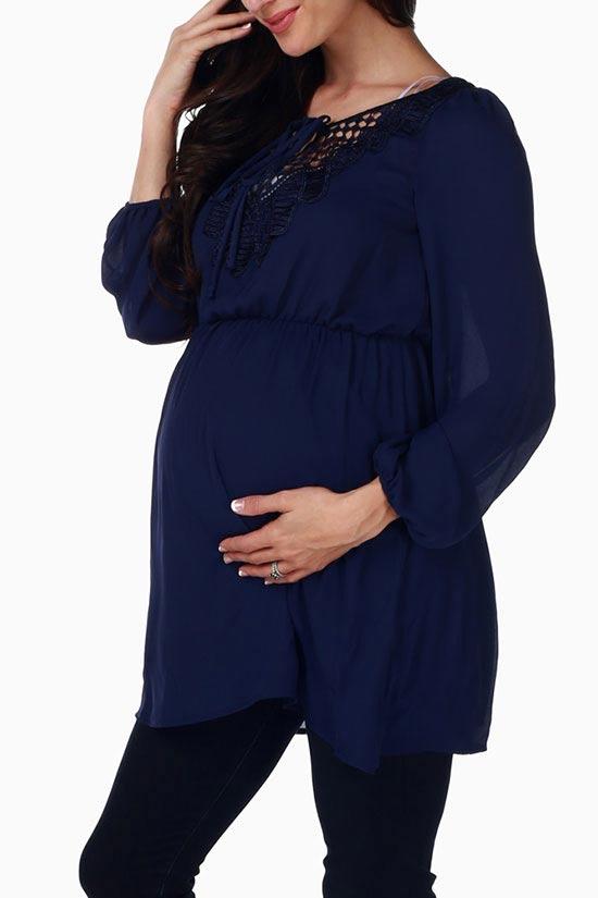 شیک و جدیدترین مدل لباس بارداری مجلسی 2019