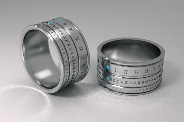 مدل جدید ساعت مچی حلقه