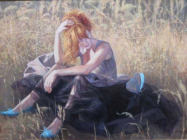 عکسهای فانتزی عاشقانه به صورت نقاشی