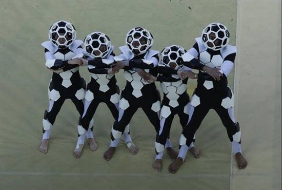 عکسهای جالب از مراسم افتتاحیه جام جهانی 2014