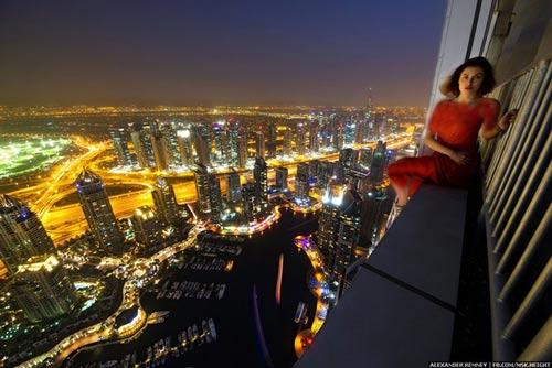 تصاویر مهیج از بالای آسمانخراش های دبی