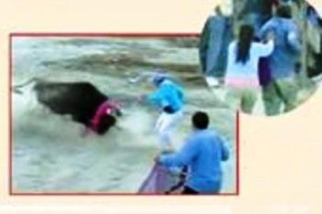 زنی که با شجاعت جان همسر مست خود را نجات داد + عکس