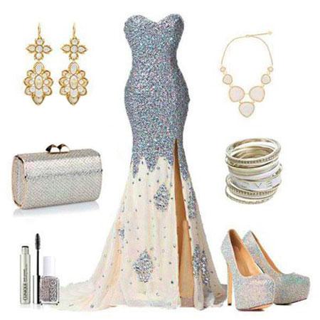 ست های لباس شب و مجلسی ویژه عروسی در تابستان