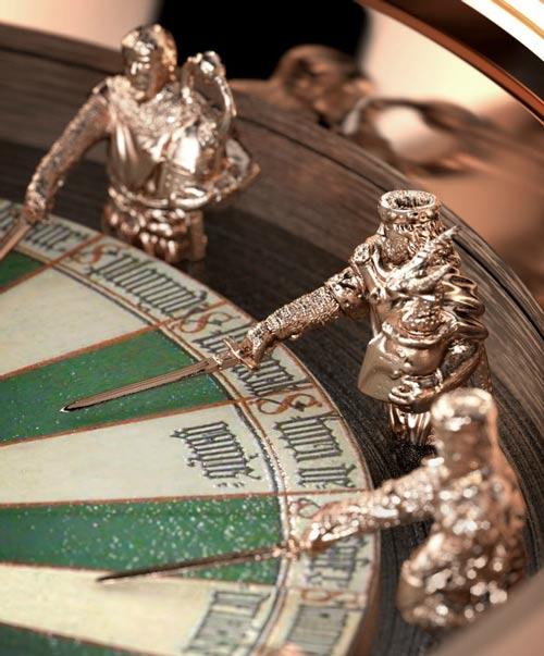 رونمایی شگفت انگیز ساعت مچی شاه آرتور و شوالیه ها  + عکس