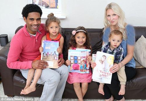 این خانواده جالب همگی چهره مدل شدن دارند! (عکس)