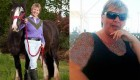 کاهش وزن این خانم به خاطر راحتی اسبش (عکس)