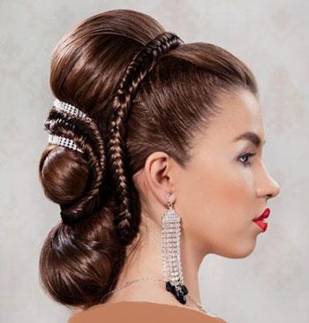 عکس هایی از جدیدترین مدل موهای عروس