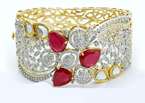 مدل های جذاب و زیبای دستبند جواهر دخترانه + عکس
