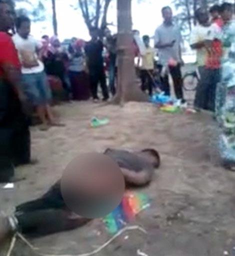 این خانم به خاطر تجاوز به دخترش این مرد را مجازات کرد