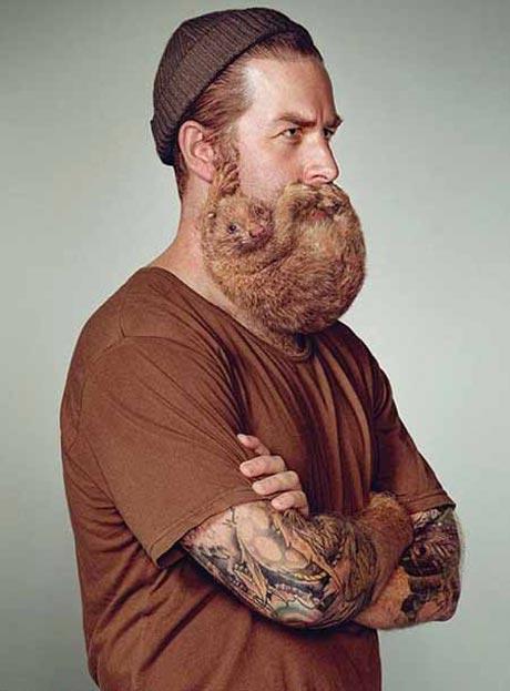 ماجرای جالب مردی که ریشش را اجاره می دهد