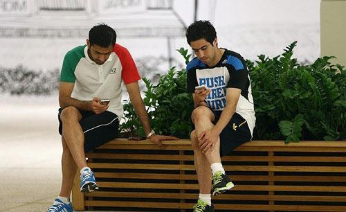 عکسهای جالب از فوتبالیستهای تیم ملی ایران در برزیل