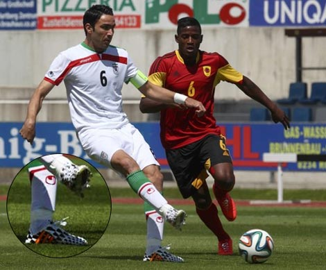 قیمت کفش جواد نکونام برای جام جهانی چقدر است؟