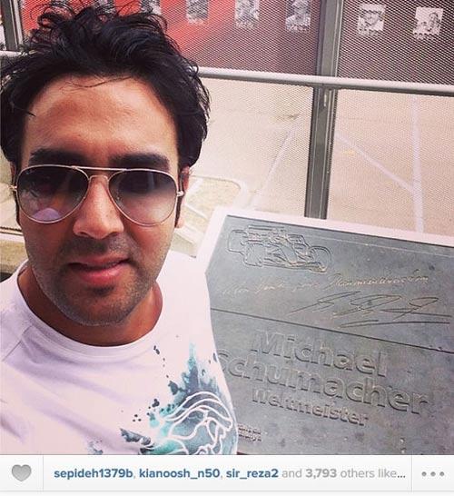 عکسهای دیدنی و متفاوت چهره های معروف ایرانی در اینستاگرام
