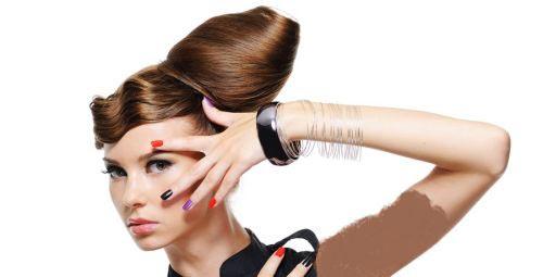 گالری جدید و زیبا از مدل میکاپ و شنیون 2014