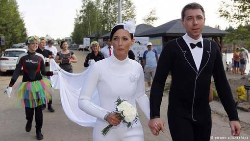 عروسی های جالب و عجیب در جهان +عکس