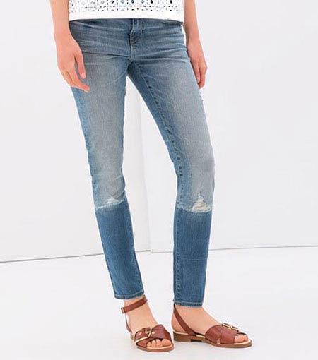 مجموعه شلوارهای جین زنانه از کمپانی زارا