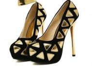 مدل جذاب از کفش های پاشنه بلند دخترانه