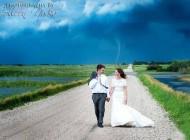 عروسی منحصر به فرد یک عروس زیبا در کانادا +(عکس)