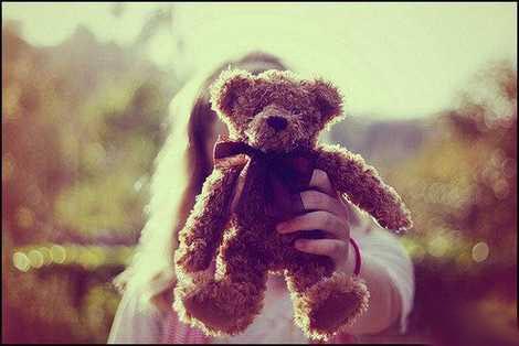 عکس های احساسی و زیبای عاشقانه خرس عروسکی