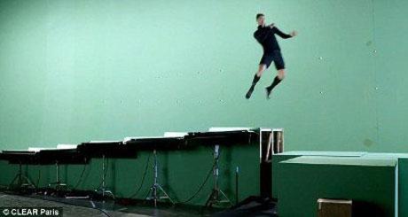 حرکات جالب و دیدنی کریستیانو رونالدو در یک تیزر تبلیغاتی