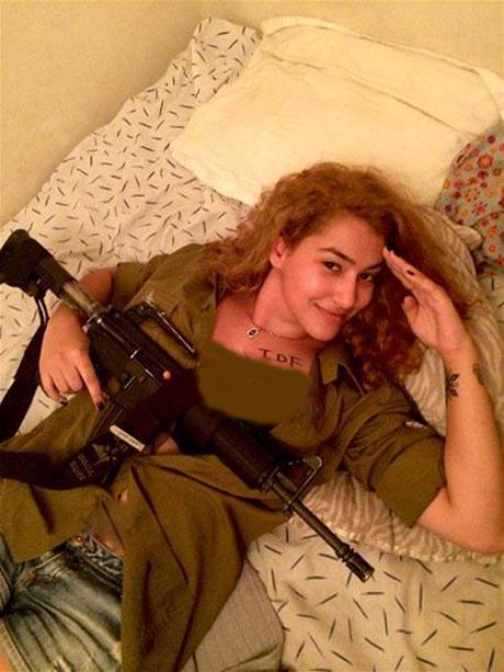 وظیفه زنان فاحشه در ارتش رژیم صهیونیستی + عکس